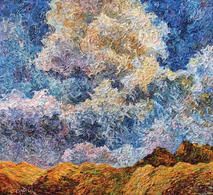 Небесный шторм    х.м.   66х71,5   2011 г.