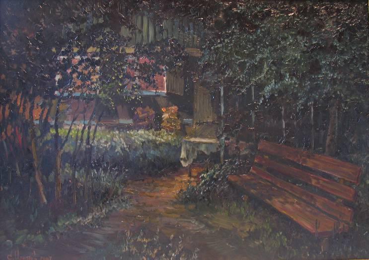 Июньская ночь   х.м.   50х70   2007 г.