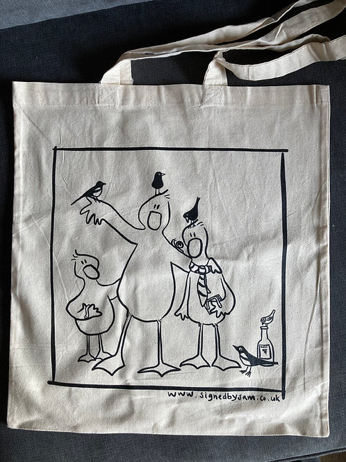 George the goose Tote bag