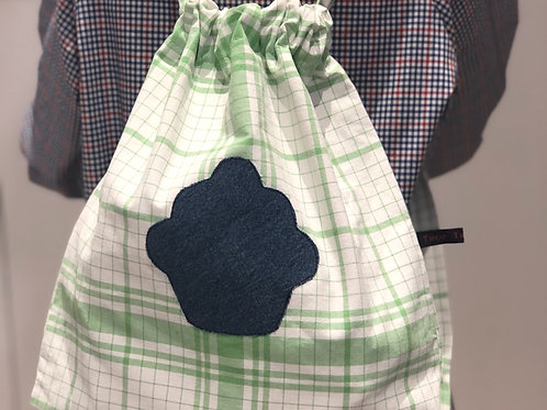 Le sac à tout cupcake - Vert et Bleu
