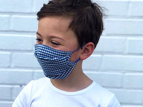 Le masque alternatif Vichy Bleu