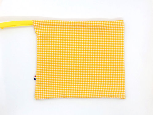 Le pochon Trop Trop Bien jaune