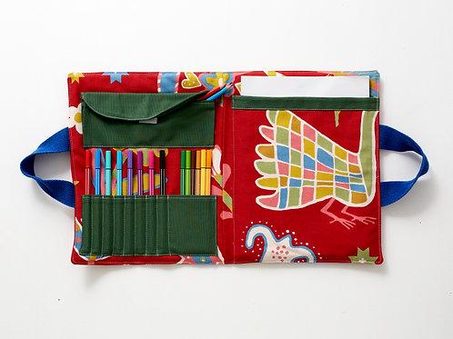La pochette d'artiste style Niki de St Phalle