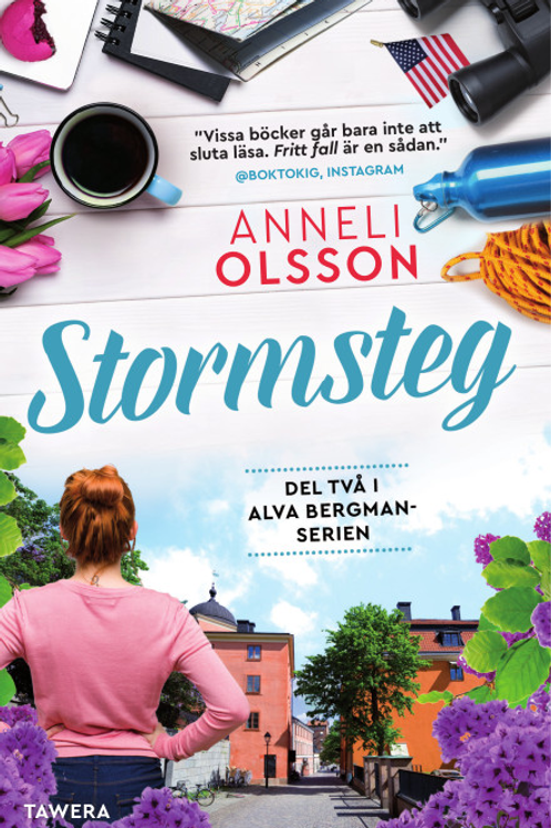 Stormsteg - Pocket, svenska, 2021. Frakt inkluderat i priset.