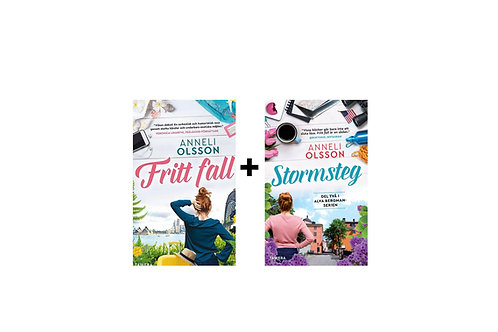 Bokpaket: Fritt fall + Stormsteg (inkl. frakt)