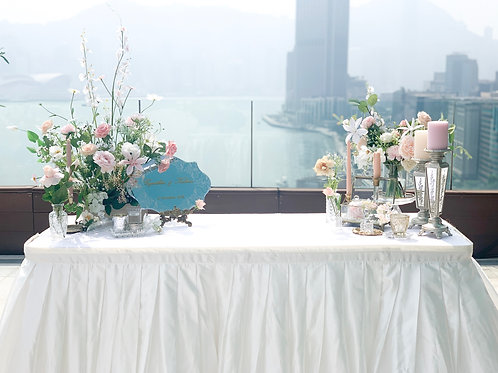 Reception Table Decoration Set