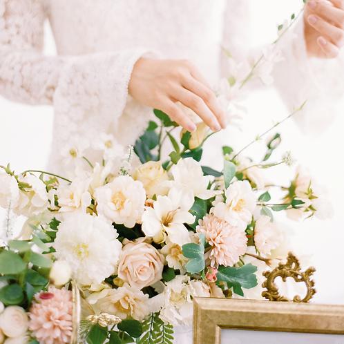 Camille Silk Flower Centerpiece / Bouquet