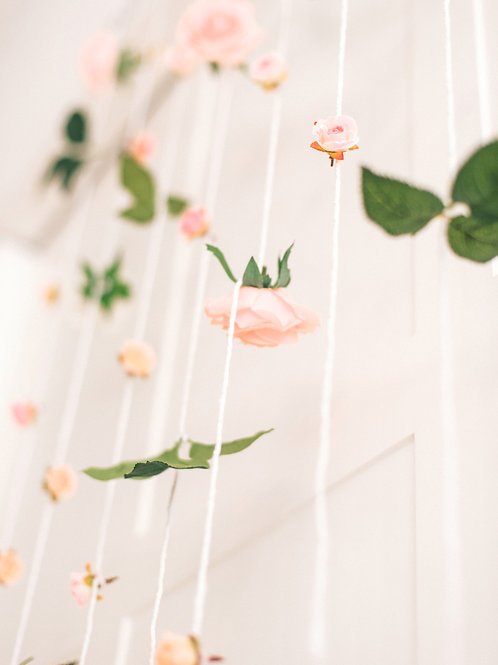 Floral Hanging Wall