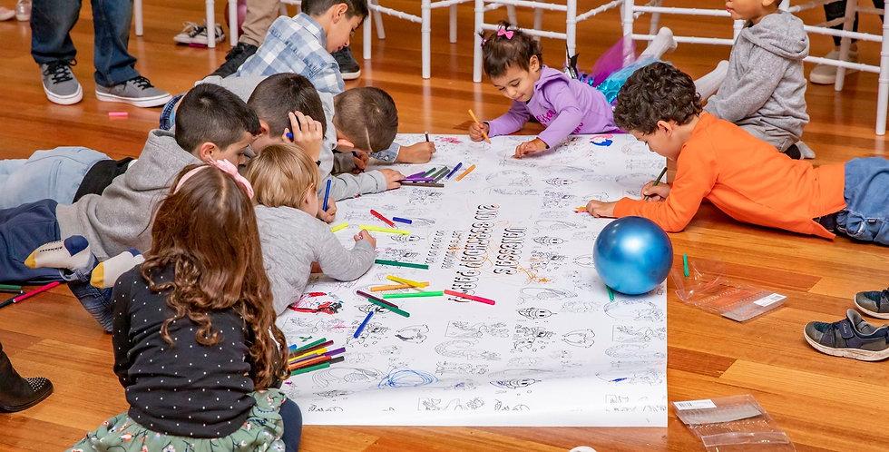 Children Colouring Mats
