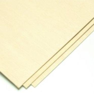 Laser Grade Poplar Plywood - 3mm