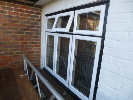 Stormproof casements with leaded lights