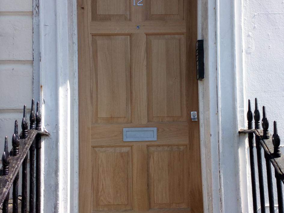 Six panel Oak front door