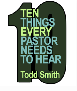 10 Things Every Pastor Needs To Hear Ebook