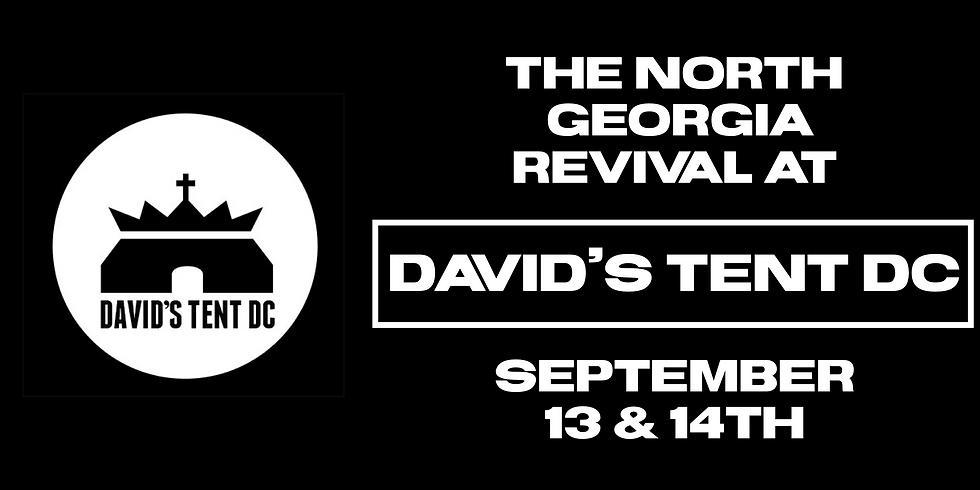 NGR at David's Tent in Washington DC