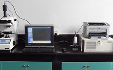 Metallographic microscope and microhardn