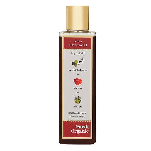 Organic Amla Hibiscus Oil 200ML