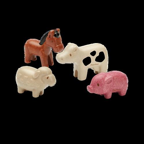 Plan Toys sada zvieratiek FARMA