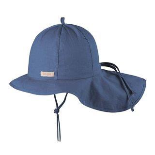 Predĺžený klobúk PurePure s UV ochrannou tmavomodrý, 45cm