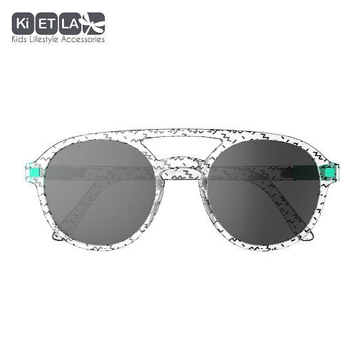 KiETLA CraZyg-Zag slnečné okuliare PiZZ 6-9 rokov pilotky zigzag