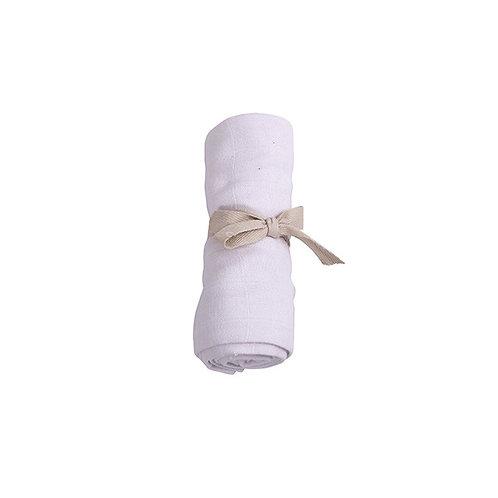 Mušelínová plienka z organickej bavlny Filibabba – jemne levanduľová