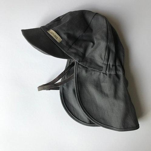 Klobúk PurePure so šiltom s UV ochrannou šedý, posledný kus 45cm