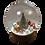 Thumbnail: Fabelab Snehová guľa Vianoce lesných zvieratiek