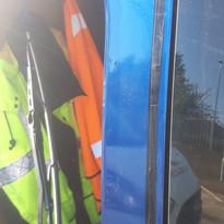 rear van window