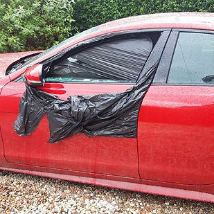 Jaguar XE door glass #toughcarglass.jpg