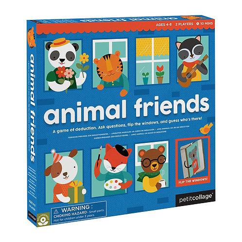 PetitCollage stolová hra s okienkami zvierací kamaráti