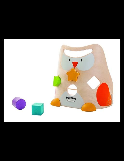 Tvary – sova Plan Toys
