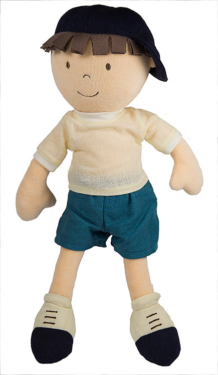 Bonikka látková bábika – chlapec Leo