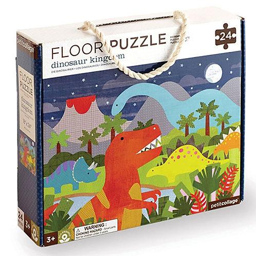 Petitcollage Podlahové puzzle Kráľovstvo dinosaurov