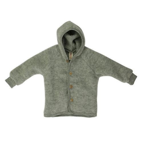 ENGEL kabátik z merino vlny šedý 50/56