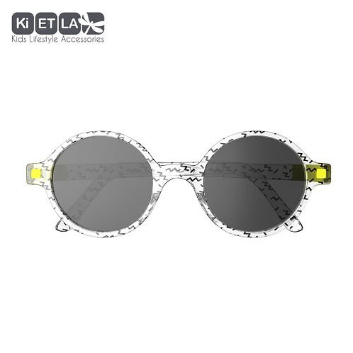 Slnečné okuliare KiETLA CraZyg-Zag okrúhle 9-12 rokov ZIGZAG