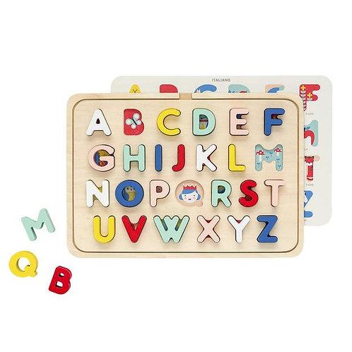 PetitCollage Drevená abeceda