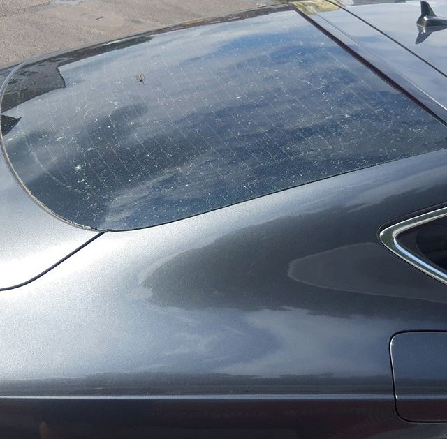 Audi A7 rear window #toughcarglass.jpg