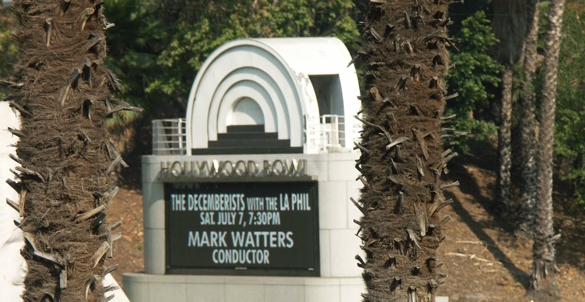 Hollywood Bowl Marque