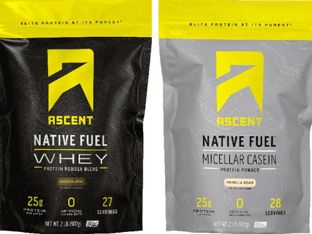 Why we carry Ascent, Fuel For Fire & FitAid products