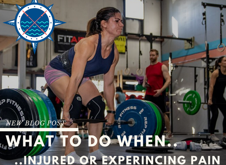 What to do when injured or experiencing pain