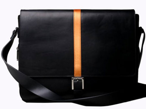 Laptop Messenger with Buckle