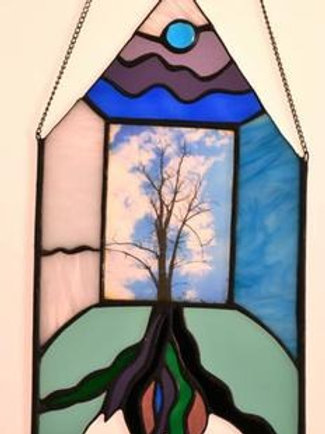 Blue Sun Tree