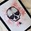 Thumbnail: Pink Floral Half-Skull