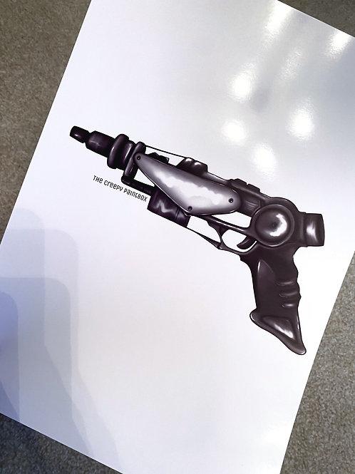 Space Gun Print