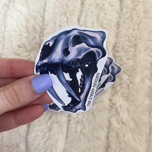 Large Sabretooth Stickers