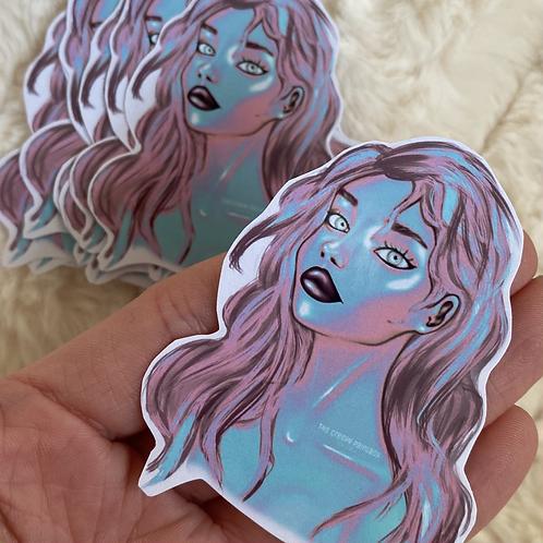 Bubblegum Girl Sticker