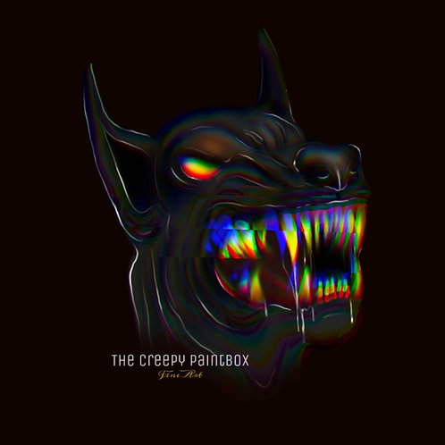 Devil Dog iPhone Wallpaper