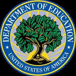 US Dept Of Education logo