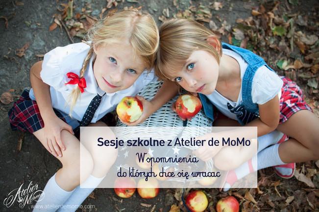 Sesje szkolne z Atelier de MoMo - wspomnienia do których chce się wracac