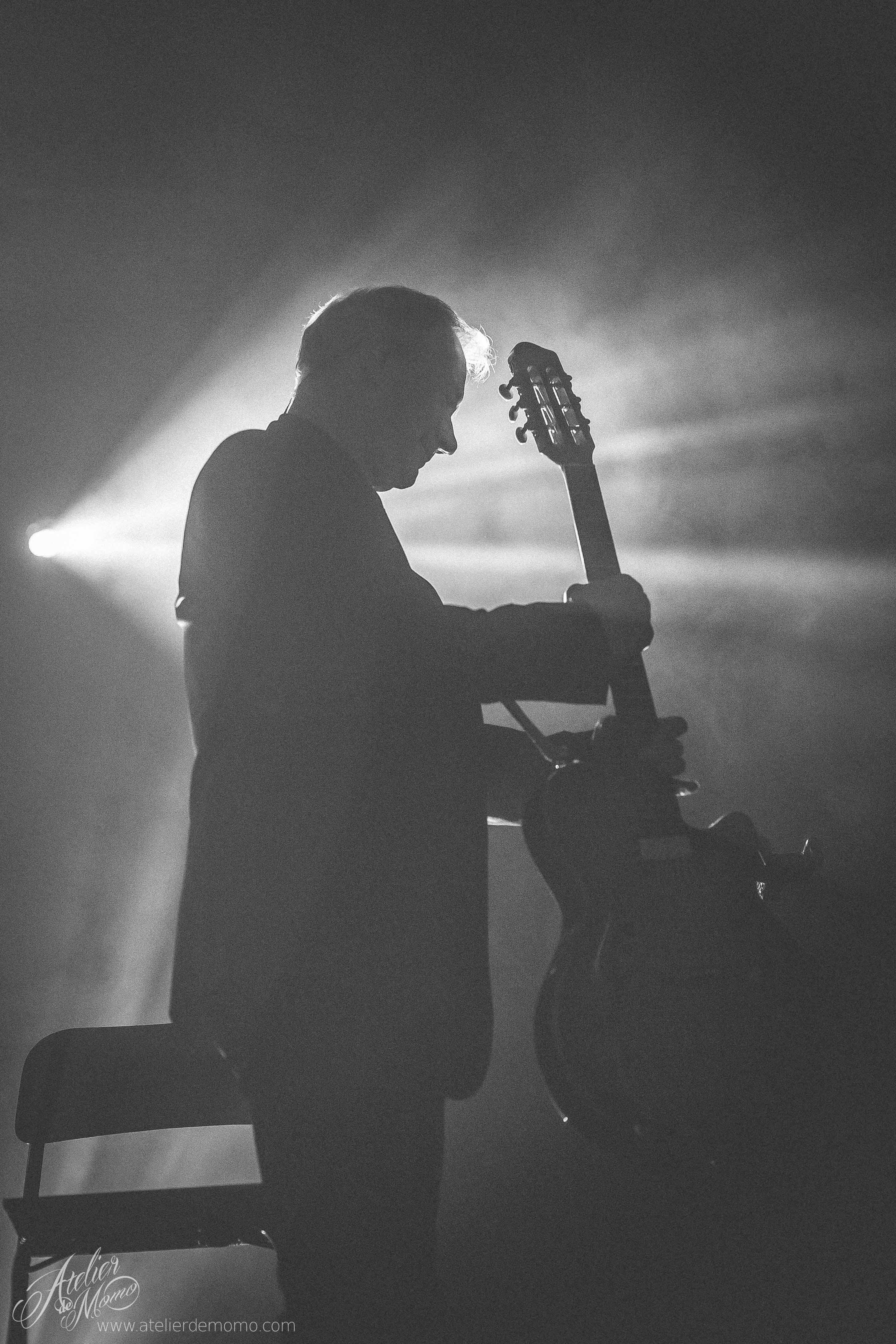 Gitarzysta koncert fotografia