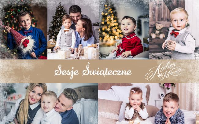 Wyjątkowe sesje świąteczne we Wrocławiu